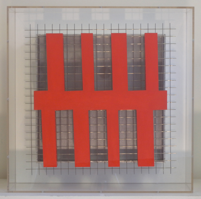 Maquette Red Construction 2013 305x305x100mm