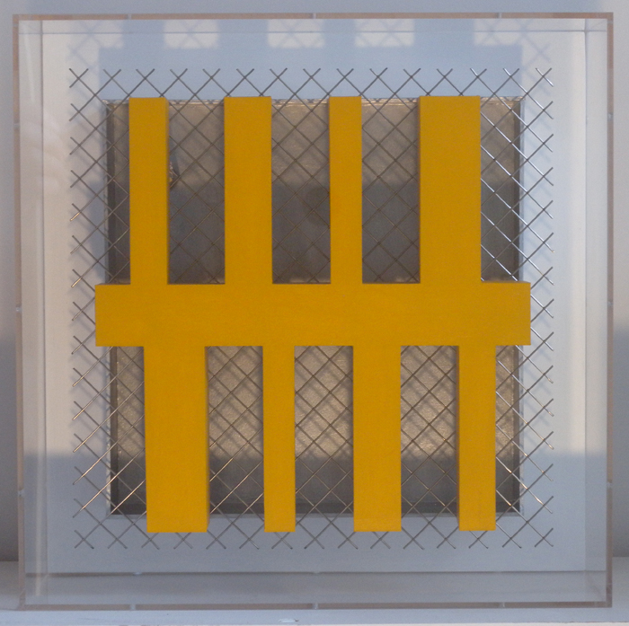 Maquette  Yellow Construction  2013 305x305x100mm