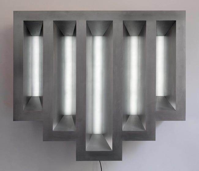 Five Lit Windows - Roseland  2006-7  1035 x 900 x 210mm