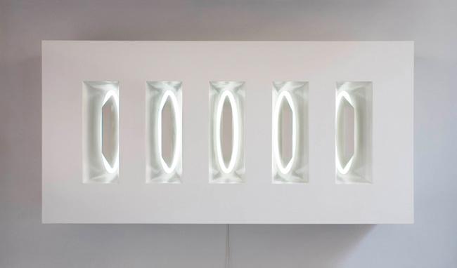 Five Grey Ellipses 2007 1220 x 605 x 313mm