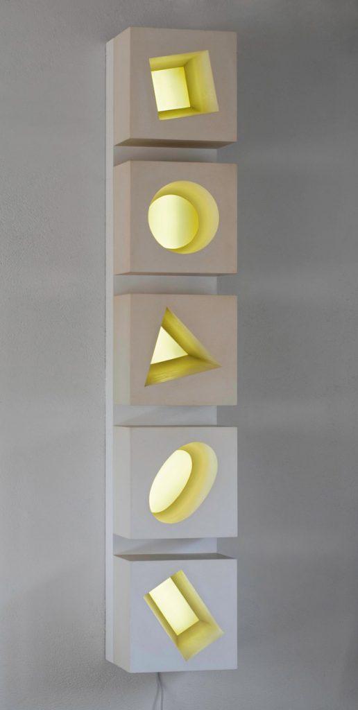 Five Lit Spaces 2003 1395 x 240 x 245mm