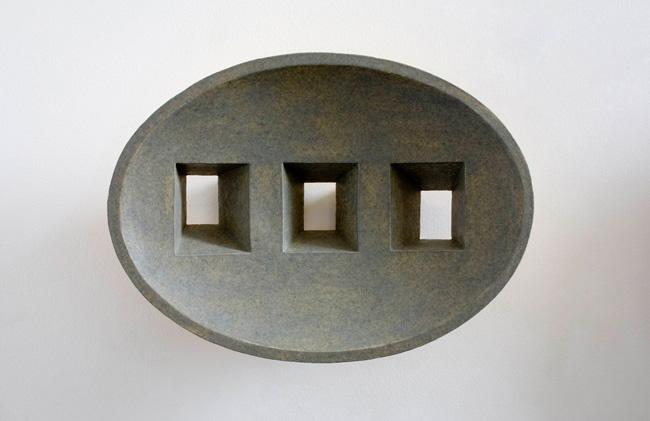 THREE WINDOWS  2004 275 x 200 x 115mm