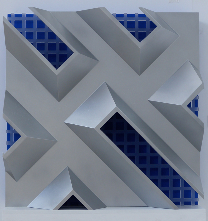 Six Deconstructed Blue Windows 2012-13 765x765x215mm