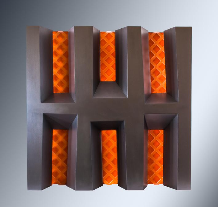Six Orange Deconstructed Windows 2012 765x765x250mm